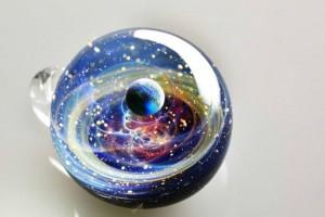 Satoshi Tomizu space glass cosmos planet