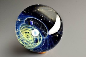 Satoshi Tomizu space glass cosmos planet 11