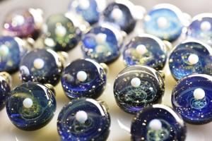 Satoshi Tomizu space glass cosmos planet 2