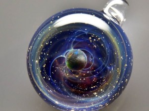 Satoshi Tomizu space glass cosmos planet 3