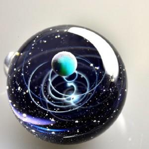 Satoshi Tomizu space glass cosmos planet 4
