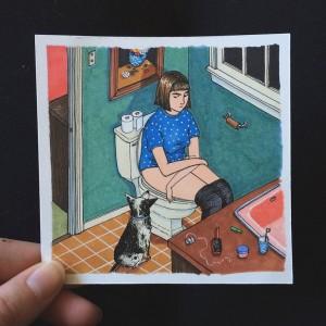 ilustraciones Sally Nixon